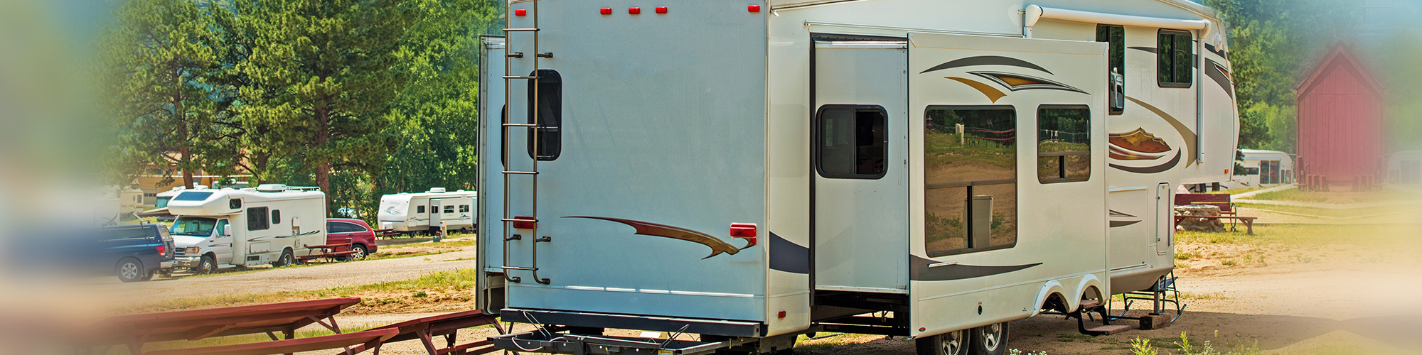 Affordable RV Camping, Gated Facility, Saltwater Pool, Full